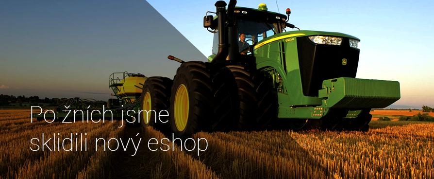 Díly na traktory jsou k dispozici i online